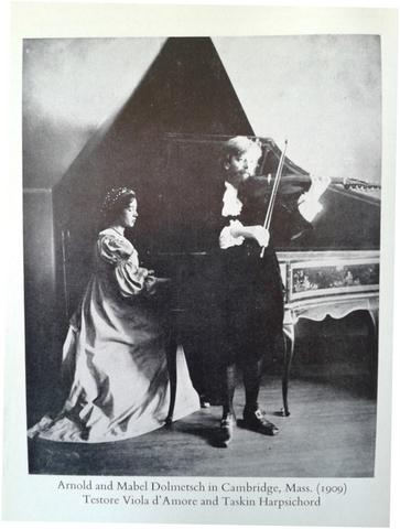 Arnold and Mabel Dolmetsch