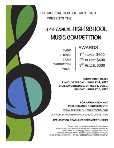 44th Annual High School Music Competition