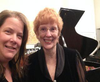 Allison Platt and Maryjane Peluso, pianists