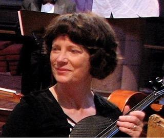 Susanne Shrader, violin and viola